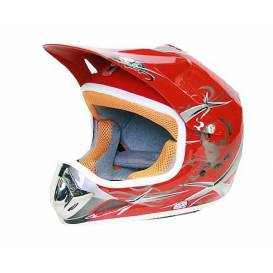 Moto přilba NITRO Xtreme Enduro Junior - červená