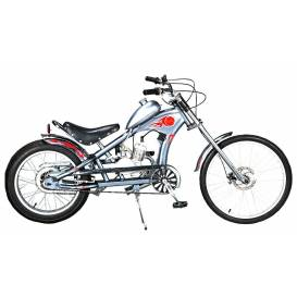 Motokolo Sunway Chopper  Silver 48cc 2t