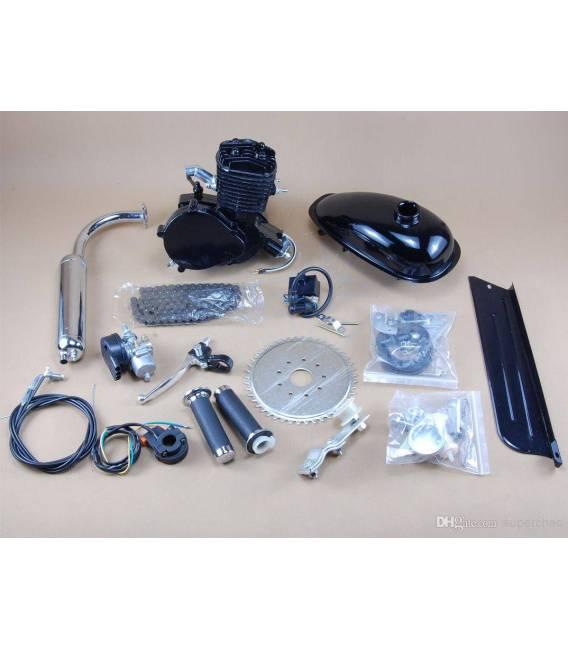 Motorový kit na motokolo 80cc 2t BLACK EDITION (přídavný motor na kolo)