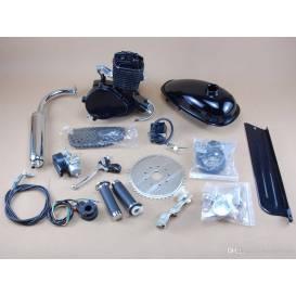 Motorový kit  na motokolo 80cc 2t  BLACK EDITION(přídavný motor na kolo)