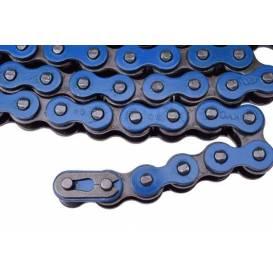 Řetěz 49/110cc (420) - modrý