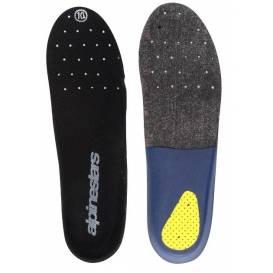 Vložky pro boty TECH 10, ALPINESTARS - Itálie (šedé/modré/žluté, pár)