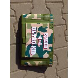 Plastové víko kufru Aku Jeep - zelená