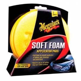 MEGUIARS Soft foam applicator pads - pěnový aplikační polštářek (2 ks)