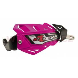 Lever covers FLX ALU, RTECH (neon pink, without mounting kit - must be purchased separately)