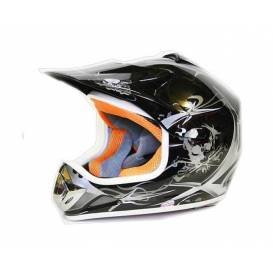 NITRO Xtreme Enduro Junior motorcycle helmet - black