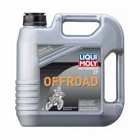LIQUI MOLY Motorbike 2T Offroad - polosyntetický motorový 2T olej 4l