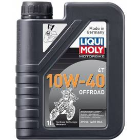 LIQUI MOLY Motorbike 4T 10W40 Offroad, fully synthetic motor oil 1 l