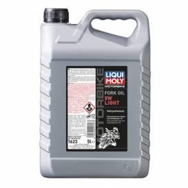 LIQUI MOLY Motorbike Fork Oil 5W Light - olej do tlumičů pro motocykly - lehký 5l