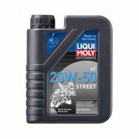 LIQUI MOLY Motorbike 4T 20W-50 Street - minerální motorový olej 1l