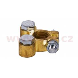 Brass battery terminal 12.8 mm Japan +