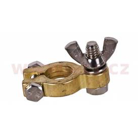 Brass battery terminal 17.5 mm Mounting +