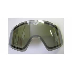 Glass FLY Zone double - FLY RACING (chrome smoke)