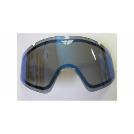 Glass FLY Zone double - FLY RACING (mirror blue smoke)