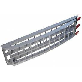 Ramp - folding - aluminum wide, Q-TECH (1 pc)