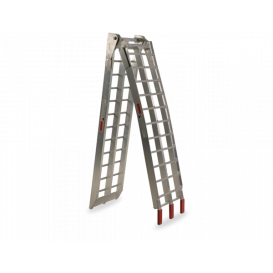 Ramp - folding - narrow aluminum, Q-TECH (1 pc)