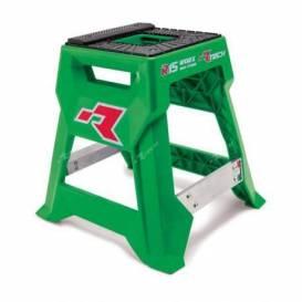 Stojan MX R15 (technopolymér / hliník), perách (zelená / čierna)