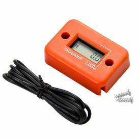 Měřič motohodin, QTECH (oranžový)