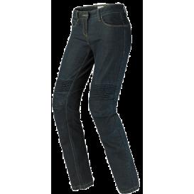 Pants, jeans J & RACING LADY, SPIDI, women's (dark blue, Cordura® / denim cotton lining)