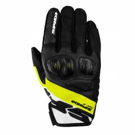 FLASH R EVO gloves, SPIDI (black / white / yellow fluo)