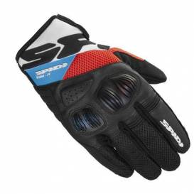 FLASH R EVO gloves, SPIDI (black / white / blue / red)