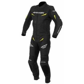 Two-piece coverall Curtiss V8, AYRTON (black / yellow fluo)