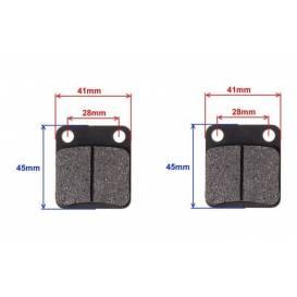 Brzdové doštičky zadné (BS200-7, BS150)