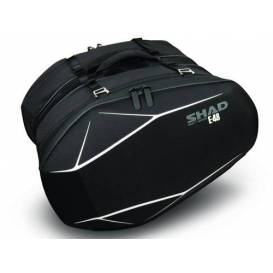 SHAD E48 motorcycle side bags