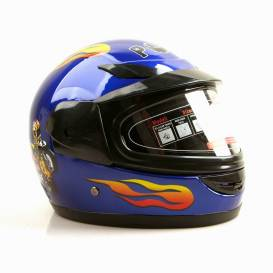 Sunway Kids Integral PHX Blue motorcycle helmet