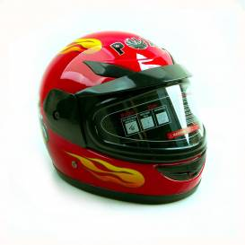 Sunway Kids Integral PHX RED motorcycle helmet