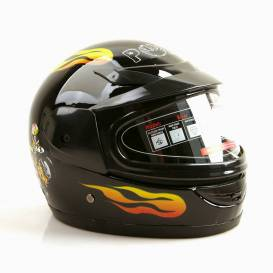 Sunway Kids Integral PHX BLACK motorcycle helmet