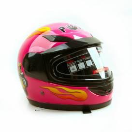 Sunway Kids Integral PHX PINK motorcycle helmet