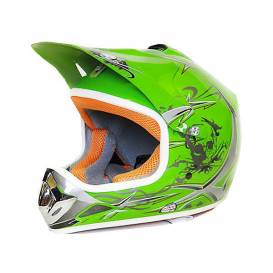 Sunway NITRO Enduro Junior PHX motorcycle helmet - green