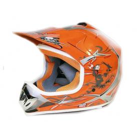 Moto přilba Sunway NITRO Enduro Junior PHX - oranžová