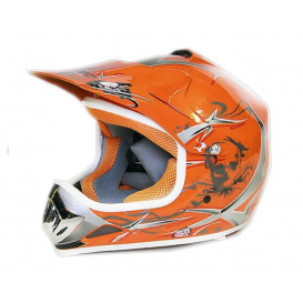 Sunway NITRO Enduro Junior PHX motorcycle helmet - orange