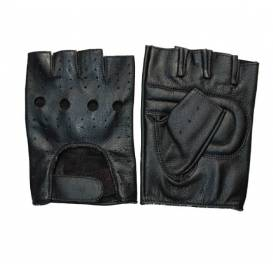 Faaker fingerless gloves, ROLEFF (black)