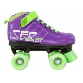 SFR Vision GT Quad Skate Purple / Green