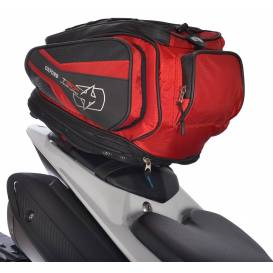 Tank bag and saddle bag T30R Time Tank 'n' Tailer, OXFORD - England (black / red, volume 30 l)