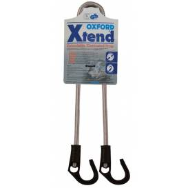 Gumicuk Xtend adjustable length to / strap diameter 800/9 mm, OXFORD - England (hook / hook)