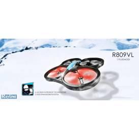 Obří Kvadrokoptéra s FPV monitorem Rayline R809 VLFPV