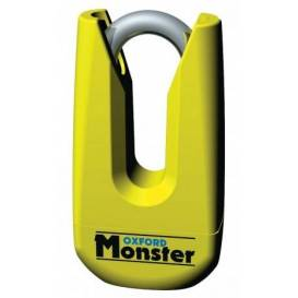 Zámok kotúčové brzdy Monster, OXFORD - Anglicko (priemer čapu 11 mm, žltý)