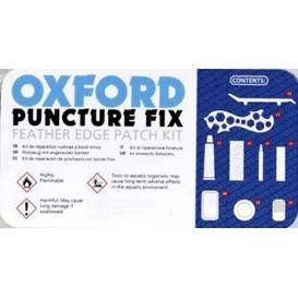 Repair kit with patches for bicycle tires, mopeds and small motorcycles incl. products, OXFORD - England