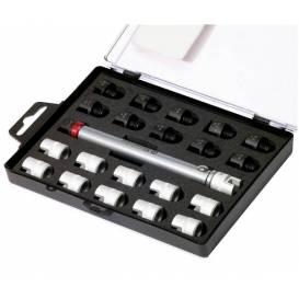 Sada momentových klíčů na dráty ráfků kol (sada 22 ks), BIKESERVICE
