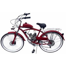 Sunway Beach Cruiser Red 80cc 2t motorcycle