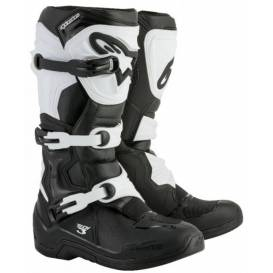 Shoes TECH 3 2021, ALPINESTARS (black / white)