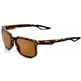 Slnečné okuliare CENTRIC Soft Tact Havana, 100% (zafarbené bronzové sklá)