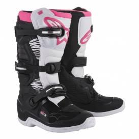 Topánky STELLA TECH 3 2021, ALPINESTARS (čierne / biele / ružové)