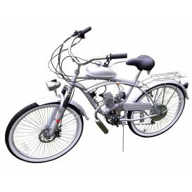 Sunway Beach Cruiser Silver 50cc 2t motorcycle