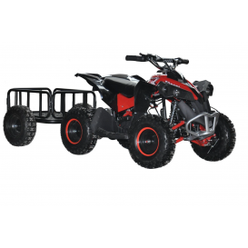 Electric ATV Sunway Renegade 1000W with a cart
