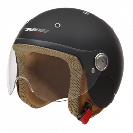 Helmet N217K, NOX children's (matt black, sizes 3XS, 2XS, XS included)